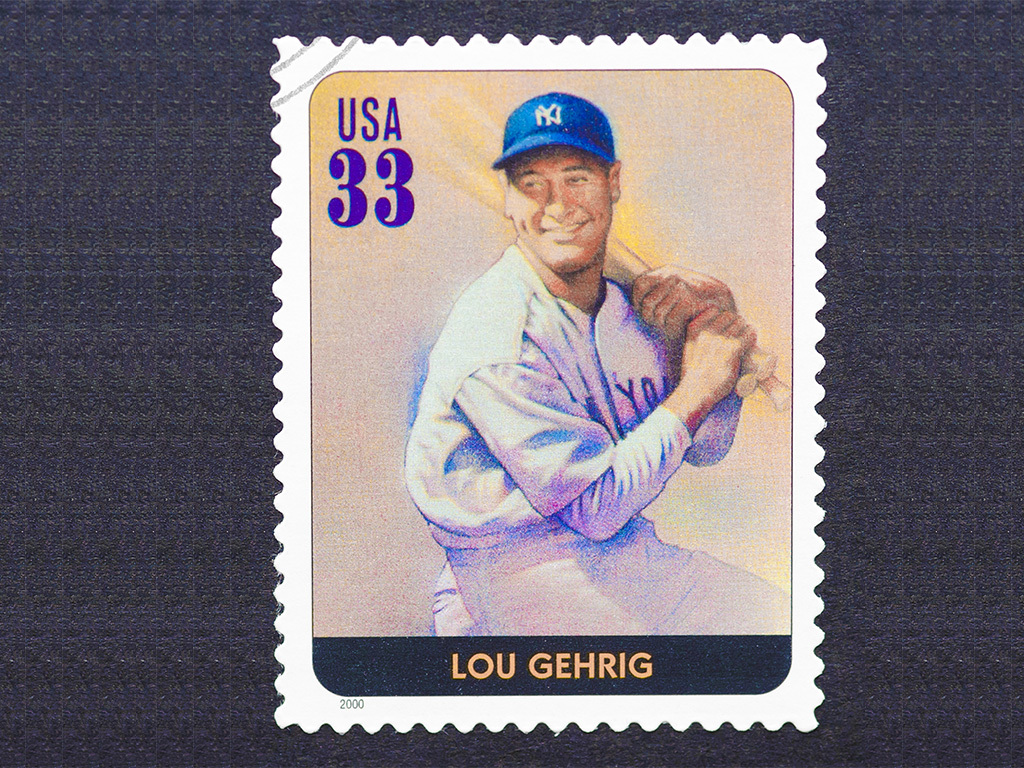 Lou gehrig and babe ruth calisphere